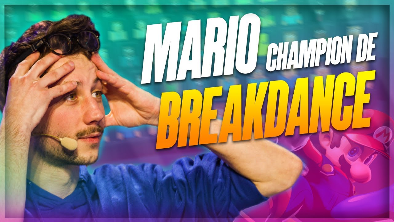 MARIO : CHAMPION DE BREAKDANCE ?! - PONCE - MASTER OF THE GRID