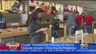 Apple Shutters Stores Globally Amid Coronavirus Pandemic