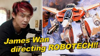 ROBOTECH live action film!!  James Wan directing for 2020 release??