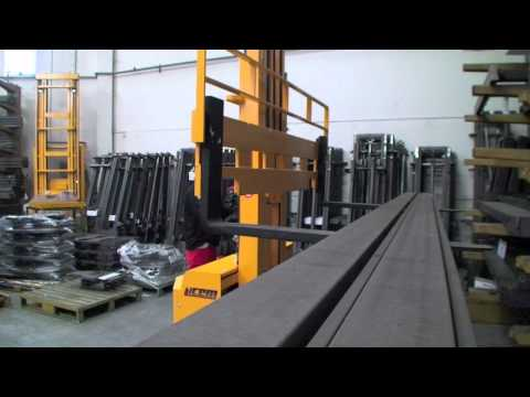 TE4D - Pick up of 7 meters long load