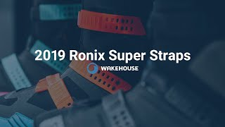 2019 Ronix Wakeboard Bindings with Super Straps | Review