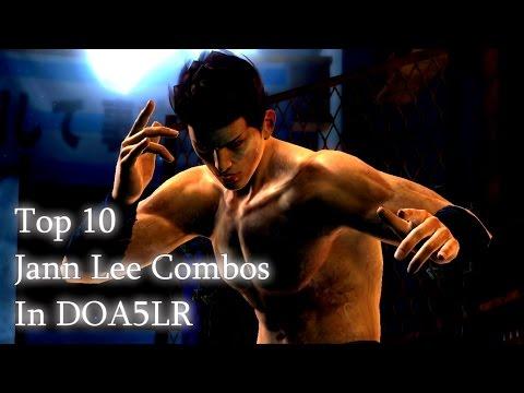 DOA5LR Top 10 Jann Lee Combos