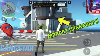Upgrading my Airport & Flying Plane around NOLA! | Gangstar New Orleans