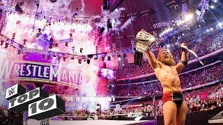 Greatest WrestleMania endings: WWE Top 10, March 31, 2018