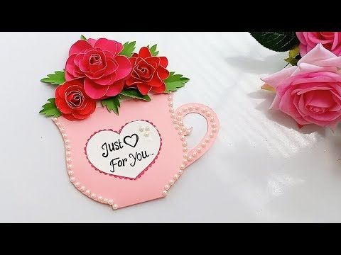Specially for Friendship Day || very easy greeting card idea
