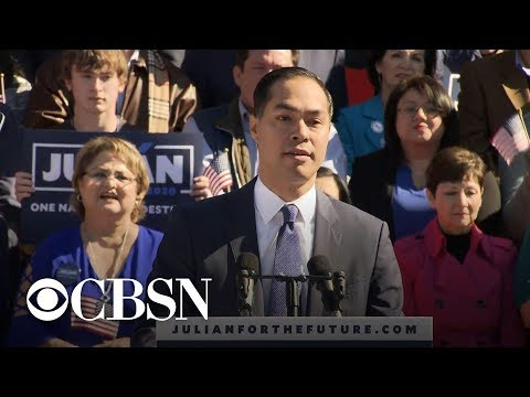 Julián Castro announces 2020 run for president