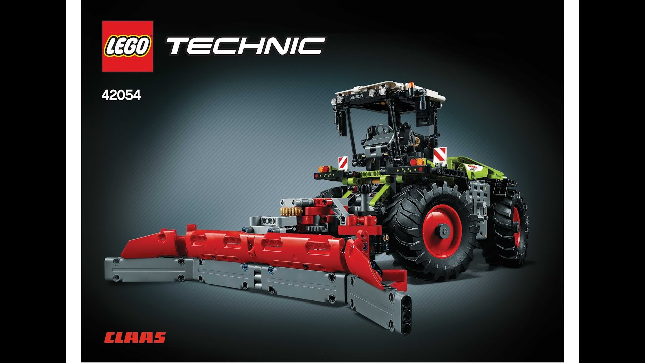 lego 42054 class xerion 5000 trac vc with silage plow. Black Bedroom Furniture Sets. Home Design Ideas