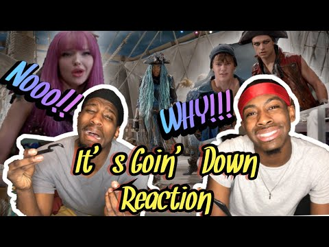 "It's Goin' Down (From ""Descendants 2"") (Reaction)😂"