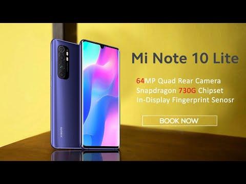 Xiaomi Mi Note 10 Lite ( Mi A4) Launch In India,  Price In India, SD 730G, NFC | Mi Note 10 Lite