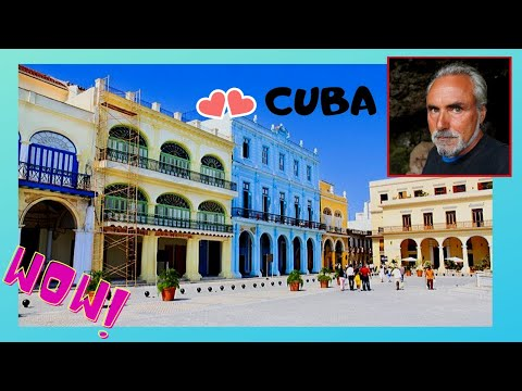 CUBA: OLD HAVANA'S most beautiful SQUARE (PLAZA VIEJA)