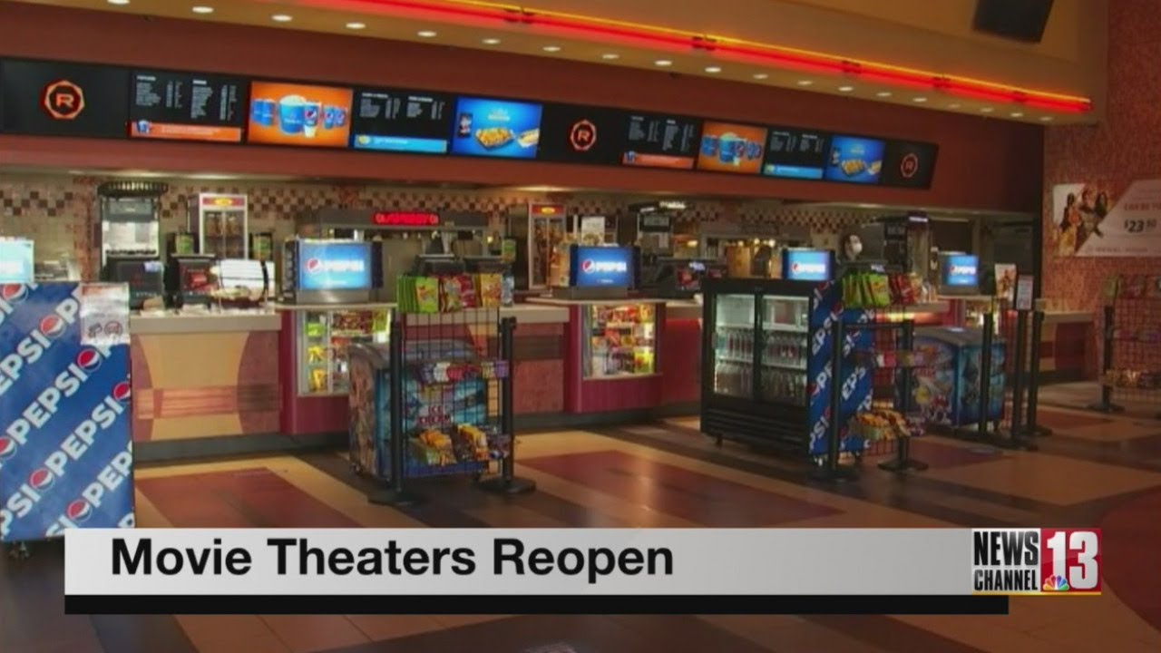 Capital Region movie theaters reopen for first time since March