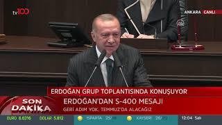 Cumhurbaşkanı Erdoğan'ın Meclis'te gösterdiği video