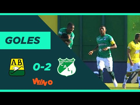 Bucaramanga vs. Cali (0-2) Liga BetPlay Dimayor 2020-1 | Fecha 1