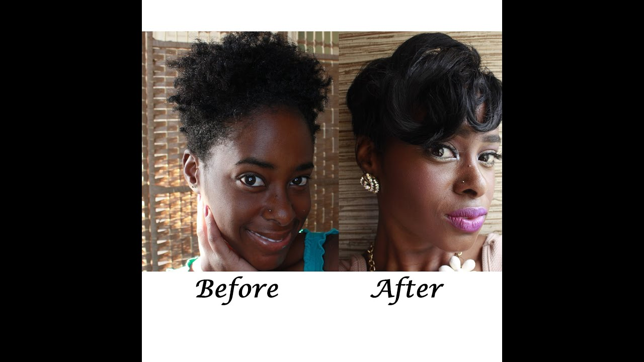 From Tapered Afro To Relaxed Pixie Cut Pt 1 Youtube