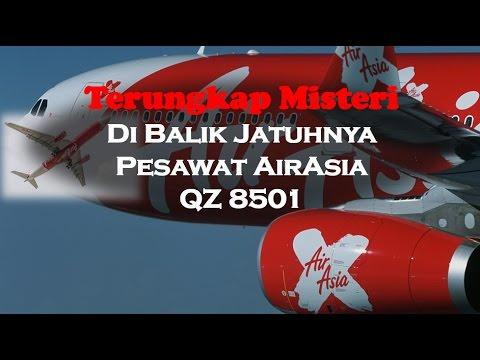 Misteri Penampakan Pesawat AirAsia Jatuh di Indonesia