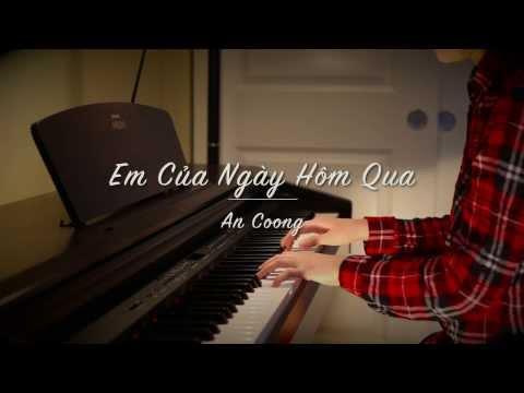 Em Của Ngày Hôm Qua - M-TP Sơn Tùng | An Coong | #Piano Cover