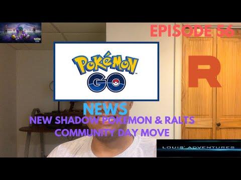 Pokémon Go News Episode 96 (New Shadow Pokémon & Ralts