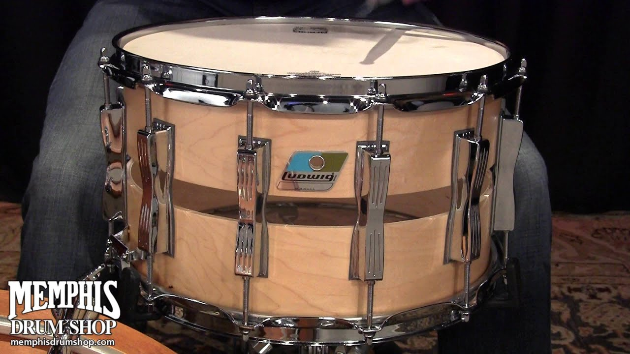 ludwig 14 x 8 slotted coliseum snare drum youtube. Black Bedroom Furniture Sets. Home Design Ideas