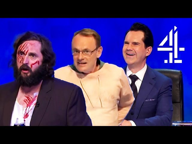 Is Sean Lock Naked?! | 8 Out of 10 Cats Does Countdown | Best Mascots Pt. 4