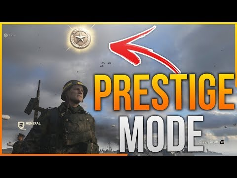How To Prestige In Call Of Duty WW2 - Entering 1st Prestige! (CoD WWII Prestige Mode, WHAT HAPPENS?)