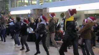 Air Canada Flashmob