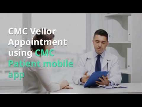 You can book CMC Vellore Appointment using Mobile App