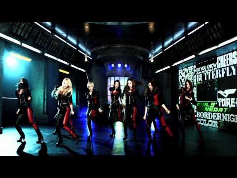 GIRLS`GENERATION少女時代 FLOWER POWER Music Video Dance Ver.