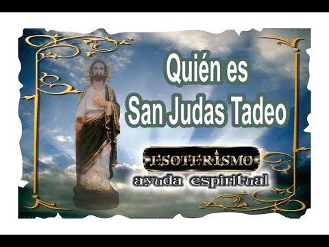 Quien Es San Judas Tadeo Biografía Esoterismo Ayuda Espiritual