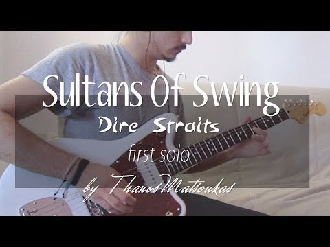 Dire Straits - Sultans Of Swing (first solo by Thanos Matsoukas)