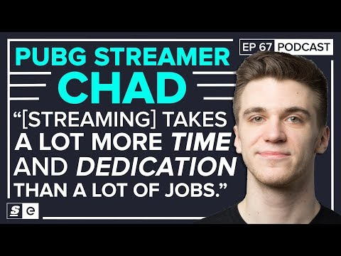 PUBG streamer Chad on playing with shroud, the realities of streaming 70 hrs. a week, PUBG's problem