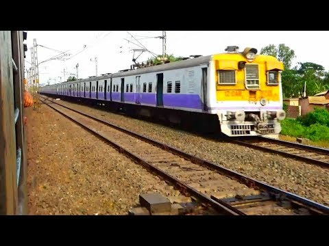 Compilation of South Eastern Railway/Speedy passing of Local, Freight & Super fast Passenger Train