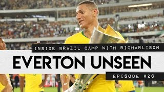 Download Video EVERTON UNSEEN #26: INSIDE BRAZIL CAMP WITH RICHARLISON MP3 3GP MP4
