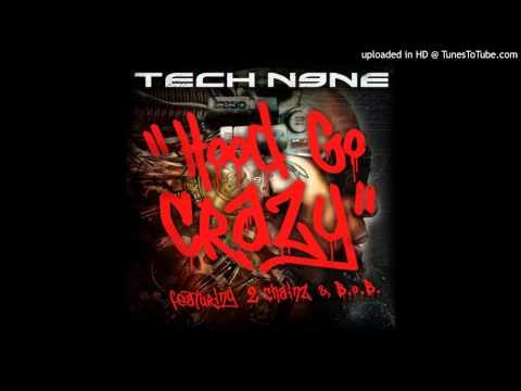 Tech N9ne Feat. 2 Chainz & B.O.B. - Hood Go Crazy (Acapella Clean) | 96 BPM