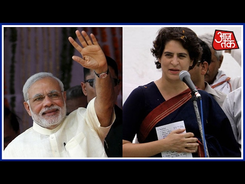 Priyanka Gandhi In Raebareli; Mocks Modi's Comment Of Being UP's Adopted Son