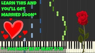 Mariage d'Amour - George Davidson [Piano Tutorial] (Synthesia/Piano Cover/Sheet Music)