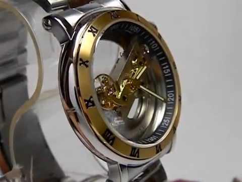 74cf16bed2e Relógio Automático Esqueleto-maquinário Amostra - YouTube