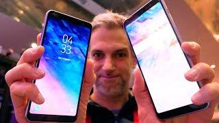 Samsung Galaxy A8 et A8 Plus - Prise en Main au CES 2018