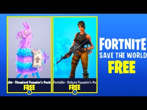 How To Get Fortnite SAVE THE WORLD For FREE! [PS4, Xbox One, PC] (STW FREE GLITCH 2018) *NEW*