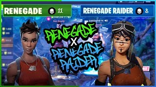 2 of the Rarest Skins in Fortnite play Duos! | Renegade x Renegade Raider | Fortnite Battle Royale