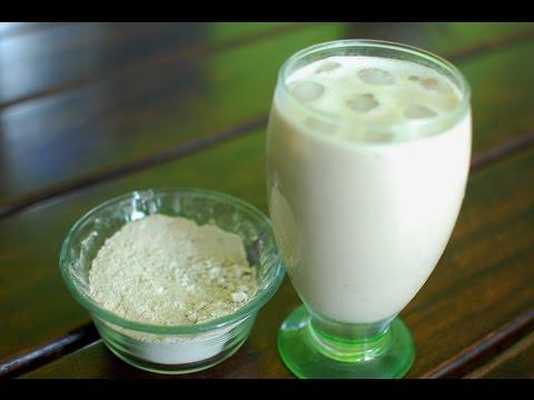 BATIDO DE MACA - Con plátano, durazno y leche de soya