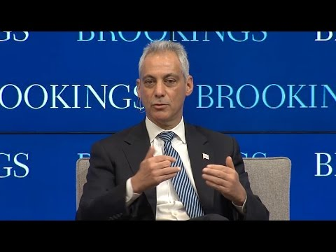 Mayor Rahm Emanuel: Why Trump won in 2016