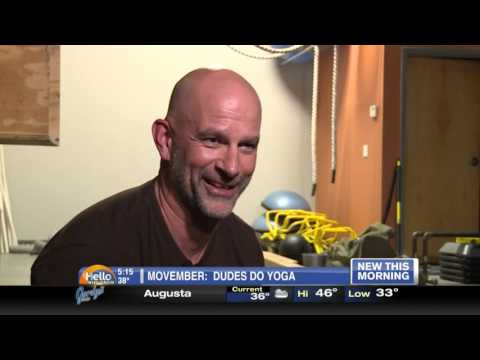WEAU Dudes Do Yoga Segment