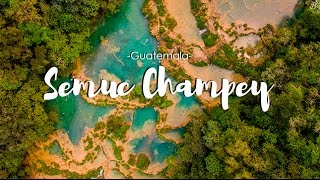 Guatemala Travel #8 | Semuc Champey Aerial view drone