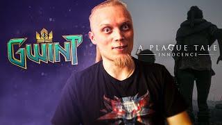Najpierw Gwint a następnie walka z A Plague Tale Zapraszam! !plan