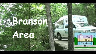 Branson Area Aunts Creek Corps of Engineers Campground on Table Rock Lake