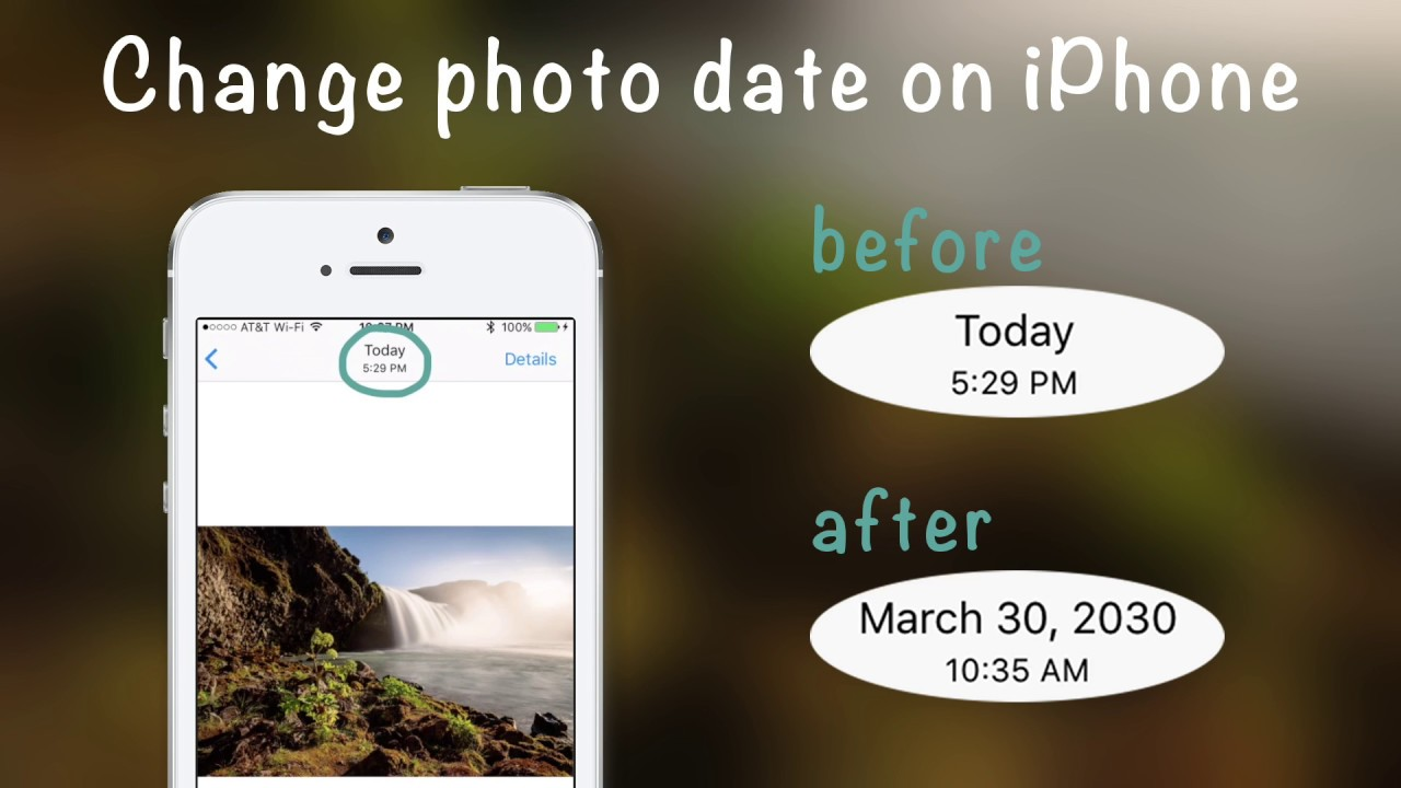 How To Change Photo Date On Iphone With Metadata Pro