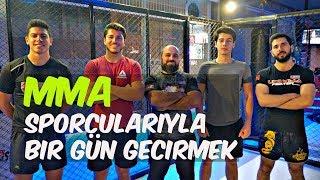 MMA SPORCULARIYLA DÖVÜŞMEK!