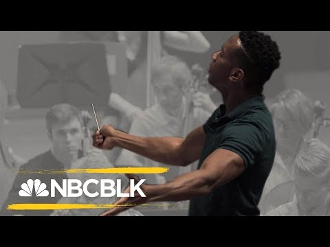 African-American Conductor Making Noise in White-Dominated Field | NBC BLK | NBC News