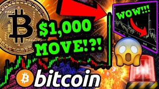 WOW!! BITCOIN $1,000 CANDLE BREAKOUT!!? ALTCOINS PUMPING! BILLIONAIRES & BTC 🚀