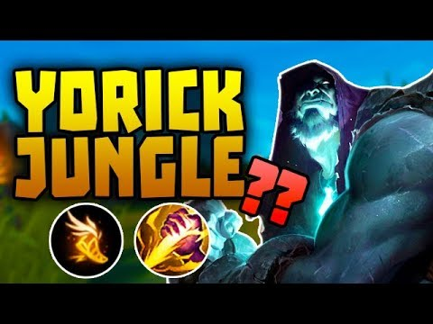 YORICK JUNGLE - Season 8's Hidden OP? // League of Legends